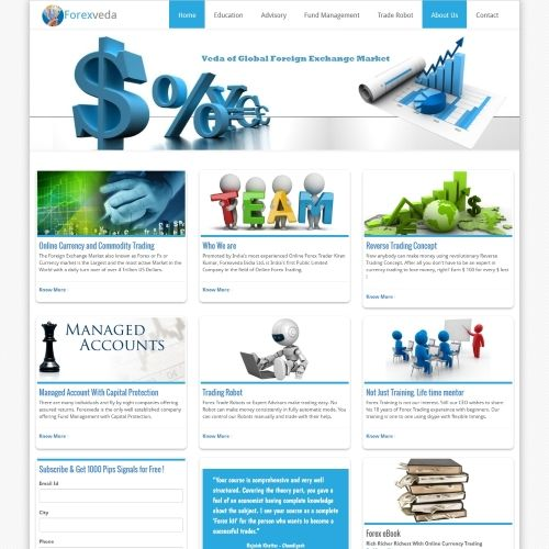 Investment Company Website